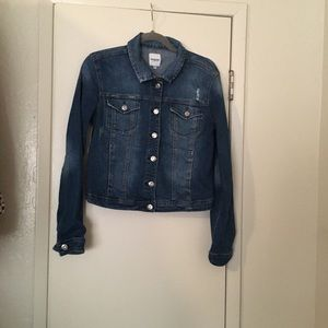 Kenzie Fitted Denim Jacket